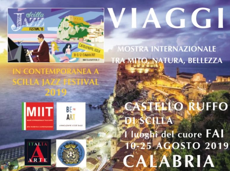 'TRAVELS. INTERNATIONAL EXHIBITION BETWEEN MYTH, NATURE, BEAUTY' – RUFFO CASTLE – SCILLA